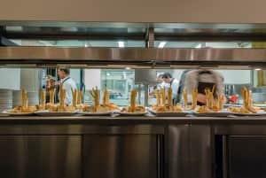 La cucina del ristorante Marcandole